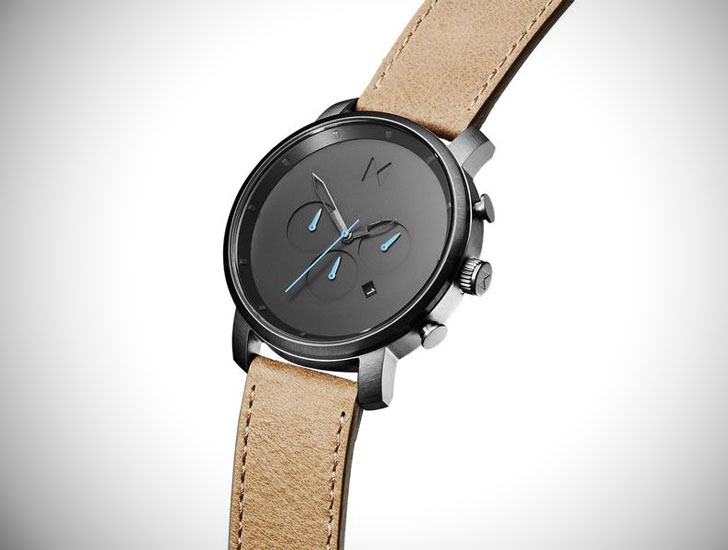MVMT 45mm Chrono Gunmetal Sandstone - Stylish & Unique Men's Watches Under $200