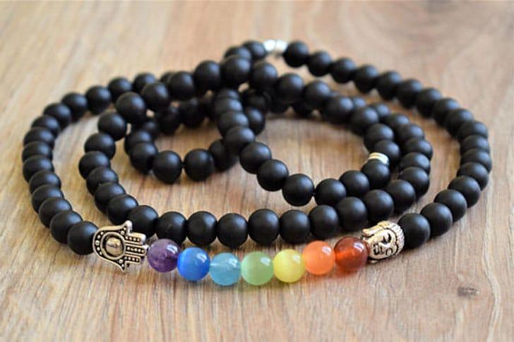 Men's 7 Chakra Mala Necklace