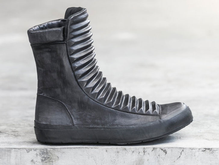 Mens Razed Boot 2.0 Black Leather Military Boots - Combat Boots For Men