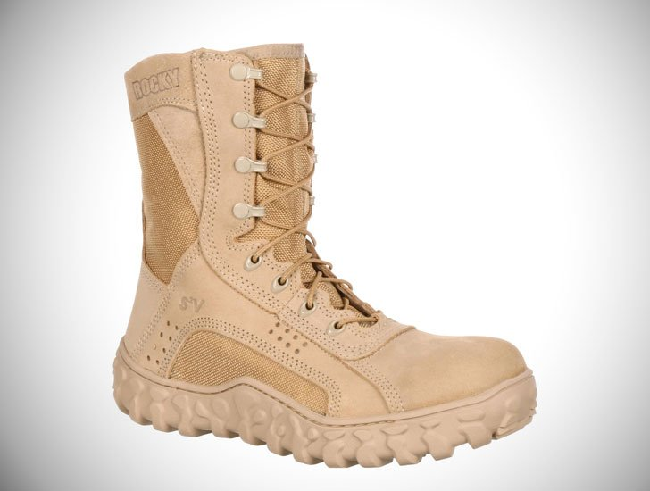 Men's Rocky Steel Toe Military Boots - Combat Boots For Men