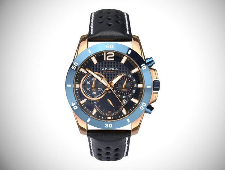 Men's Sekonda Chronograph Watch - Stylish & Unique Men's Watches Under $200