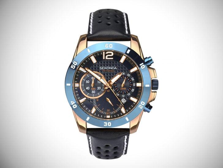 Men's Sekonda Chronograph Watch - Stylish & Unique Men's Watches Under $200