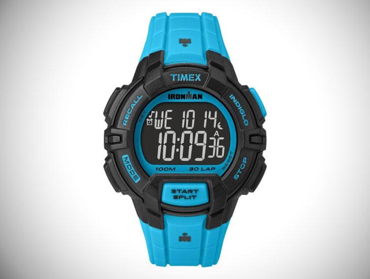 Mens Timex Indiglo Ironman Alarm Chronograph Watch
