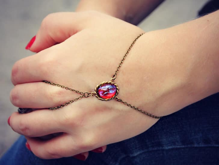 Mexican Opal Slave Bracelet