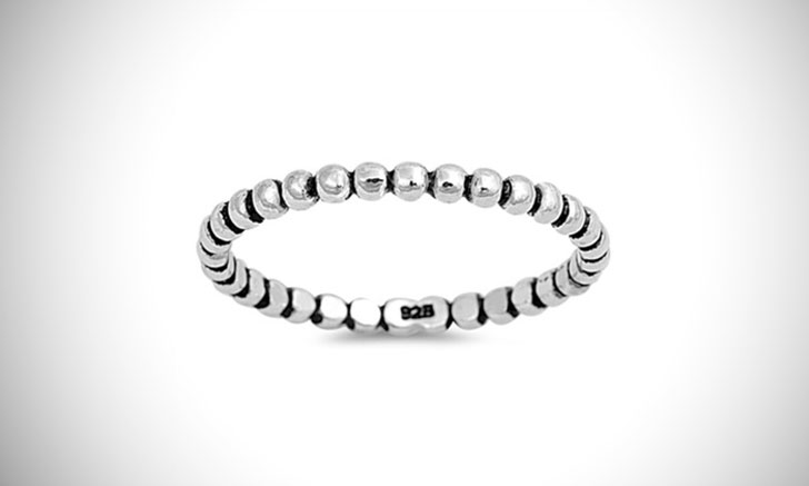 Minimalist Sterling Silver Thumb Ring