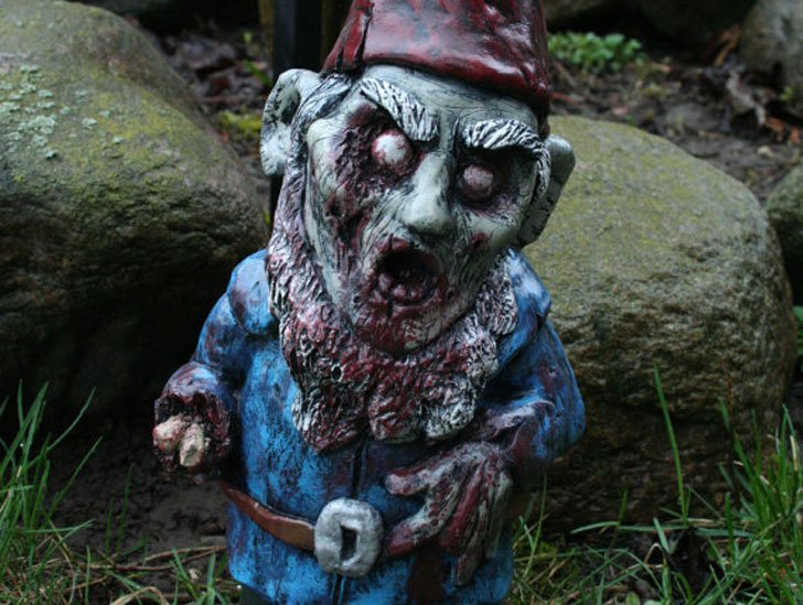 Necro Neckbeard Creepy Gnome
