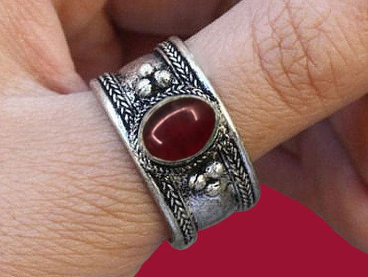 Nepalese Ethnic Tribal Thumb Ring