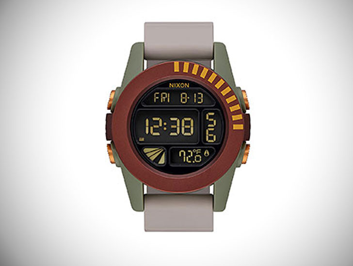 Nixon Unit Boba Fett Limited Reissue Watch