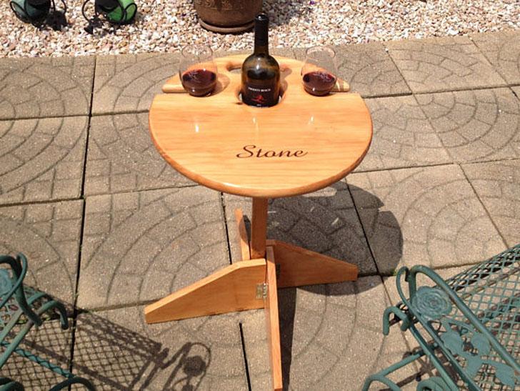 Outdoor Wine Table Get Home Inteiror House Design Inspiration