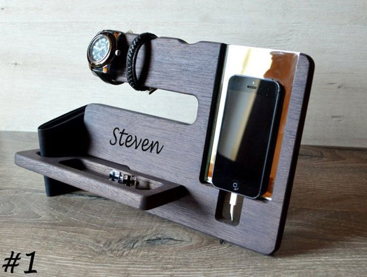 Personalised Bedside Docking Station