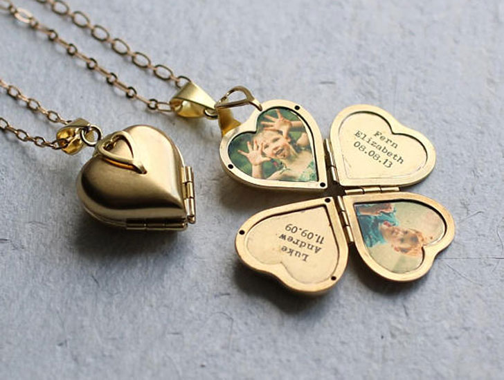 Personalised Photo Locket - Sentimental Gifts For Mom