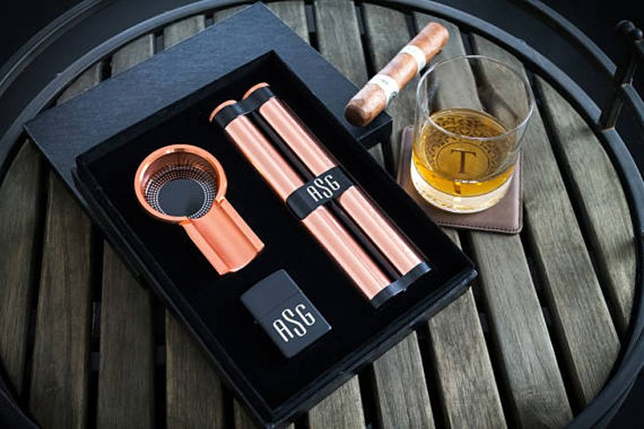 Personalized Cigar Gift Sets