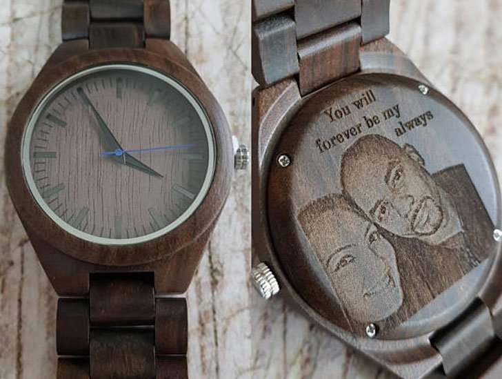 Personalized Image Transfer Watch