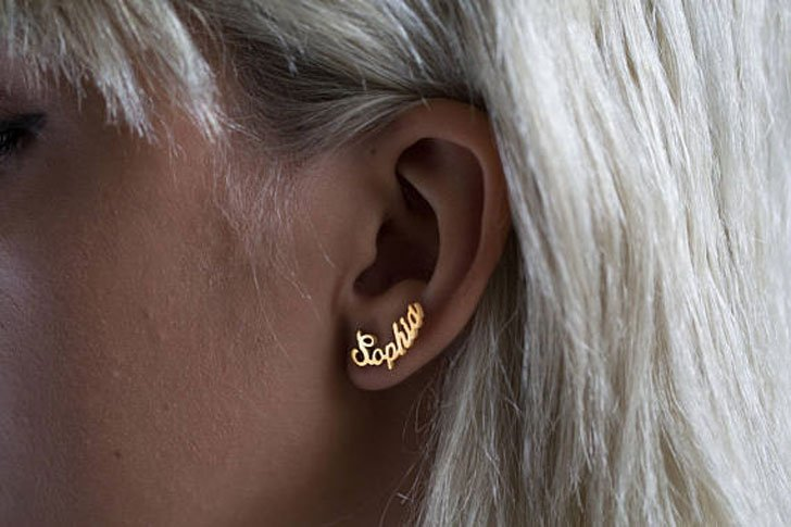 Personalized Name Earrings - Sentimental Gifts For Mom