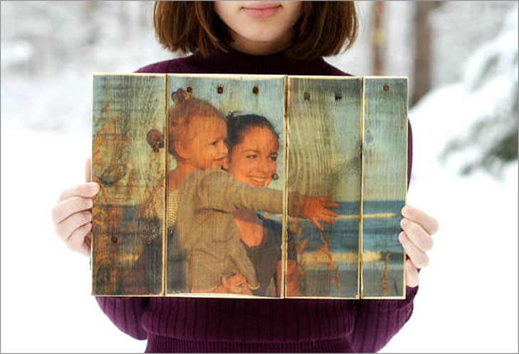 Personalized Wooden Photo Gift