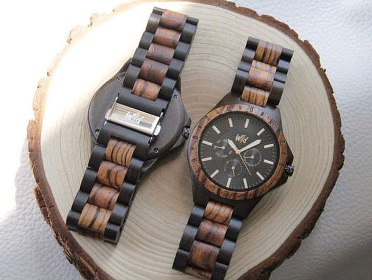 Personalized Wooden Watch - Stylish & Unique Men's Watches Under $200
