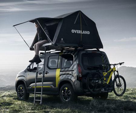 Peugeot Rifter 4x4 Adventure Van