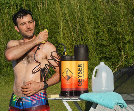 Portable Hot Shower System