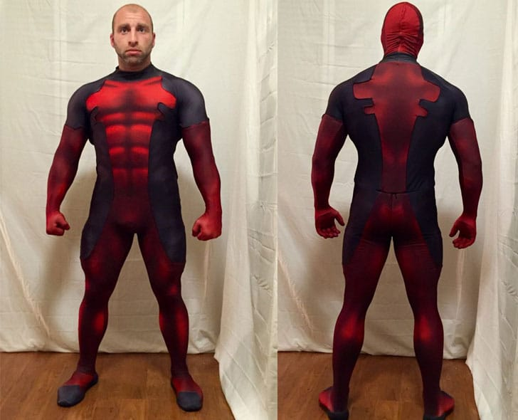 Quality Deadpool Cosplay Bodysuit