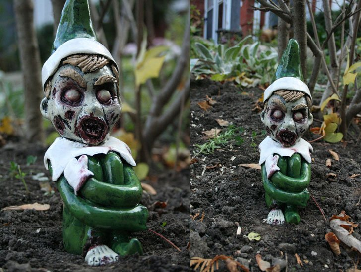 Ralph the Zombie Christmas Elf