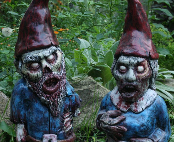 Ribor Mortis & Bloody Mary Zombie Gnome