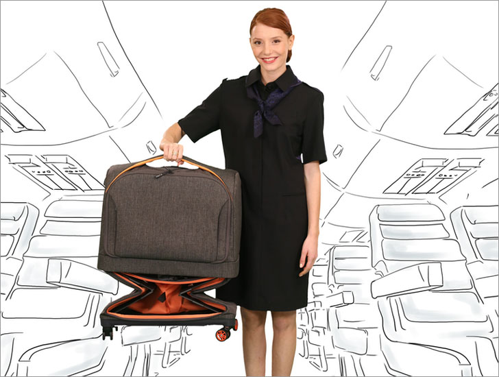 Rollux 2-in-1 Travel Suitcase