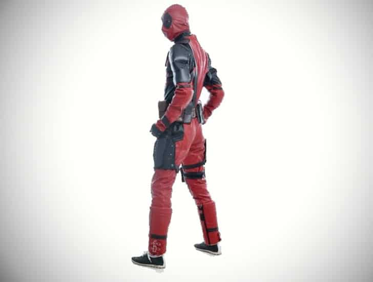 DFYM Deluxe Leather Deadpool Outfit
