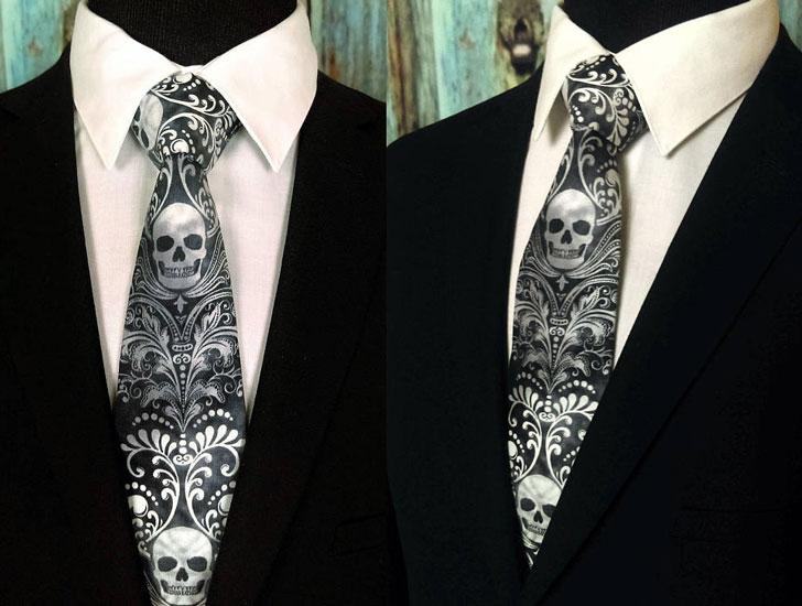 Skull Neckties