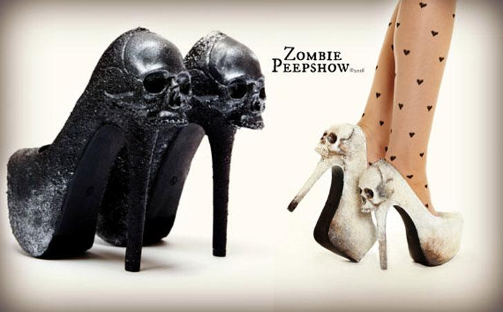 "Skull ""Purgatory"" Pump Heels"