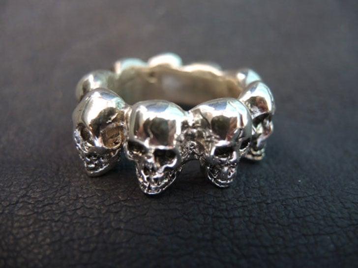 Skull Thumb Ring