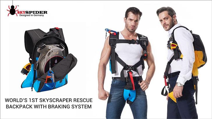 SkySpider Skyscraper Rescue Backpack