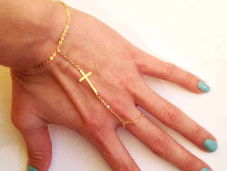 Slave Bracelet with Cross