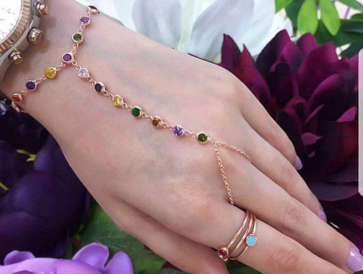 Slave Chain Tambourine Hand Bracelet