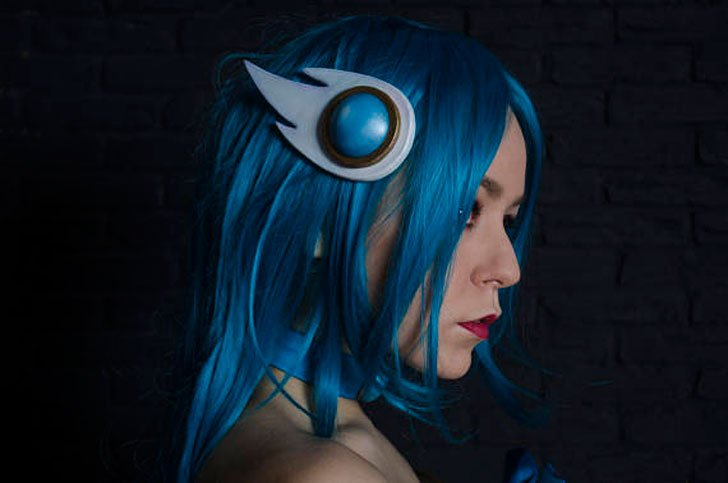 Soraka Cosplay Costume