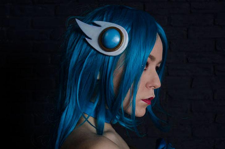 Soraka Cosplay Costume