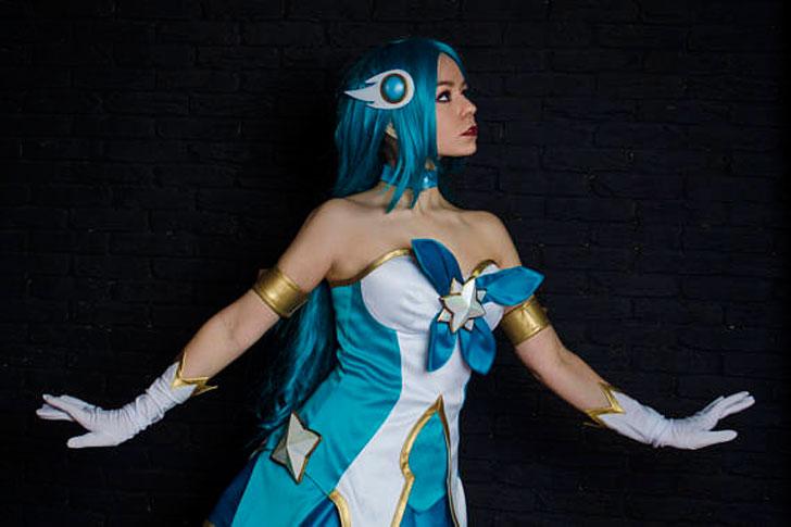 Soraka Cosplay Costume - anime costumes