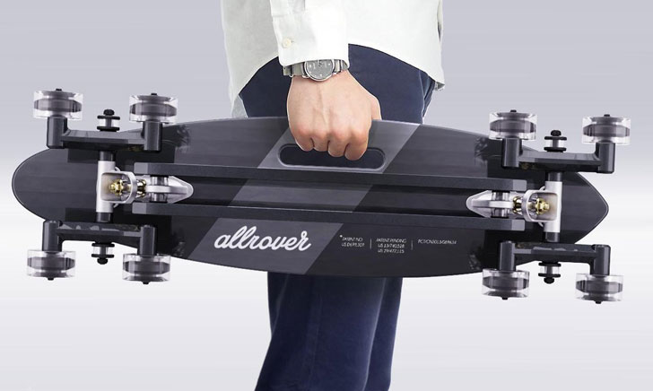 Stair-Rover Longboard