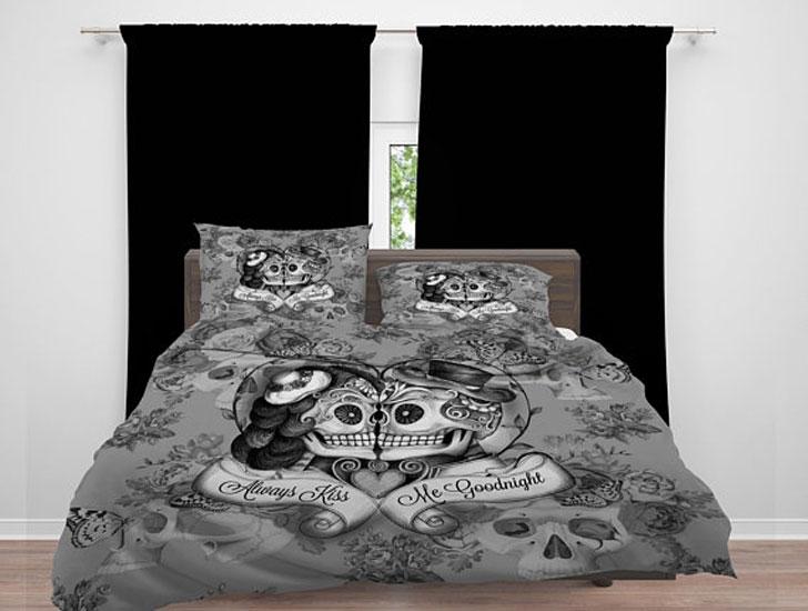 Sugar Skull Comforter Set