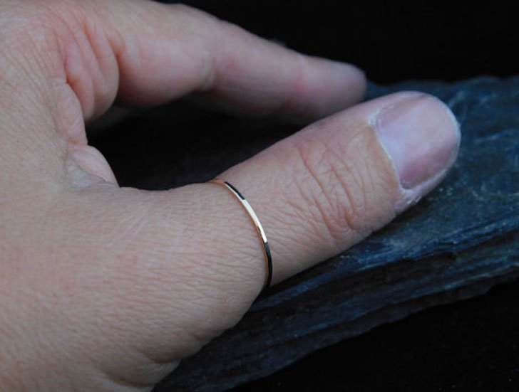 Super Skinny Thumb Rings