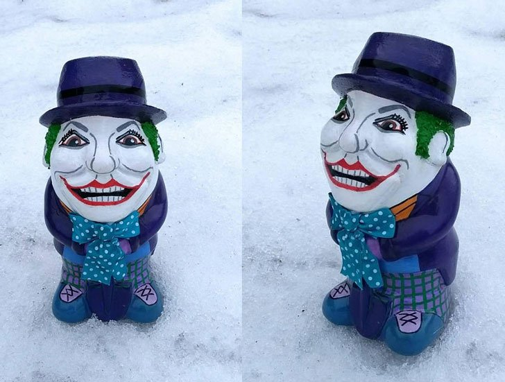 The Joker Garden Gnome