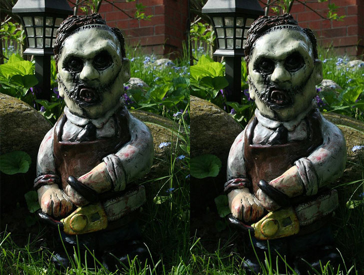 The Texas Chainsaw Butcher Gnome