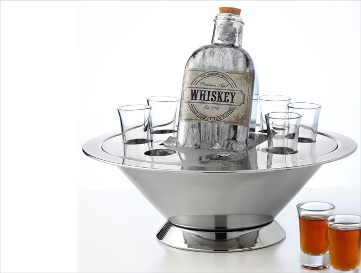 The Ultimate Host Bucket with Personalised Decanter & Shot Glasses
