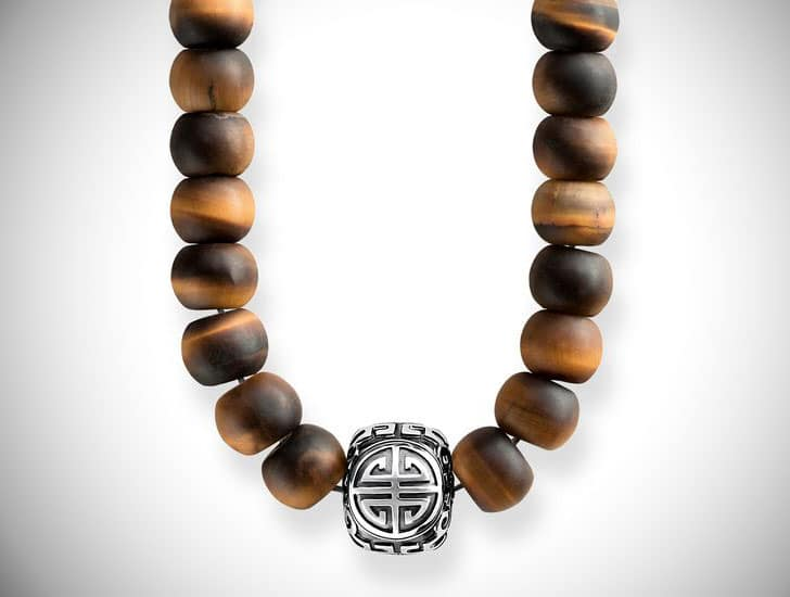 Thomas Sabo Ethnic Brown Beaded Power Necklace