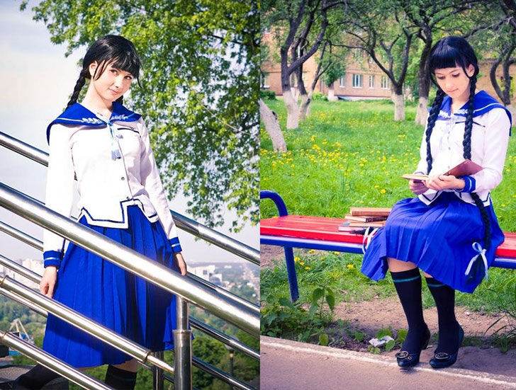 Tohko Amano Costume - costume d'anime