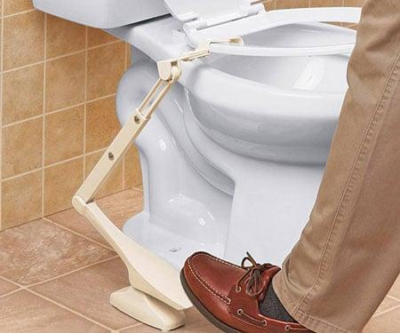 Toilet Seat Lifting Pedal
