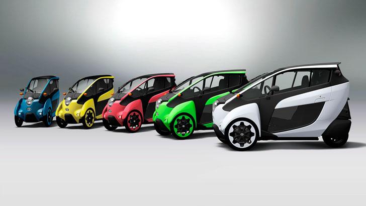 Toyota i-Road City Vehicles
