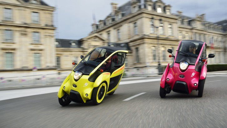 Toyota i-Road City Vehicles