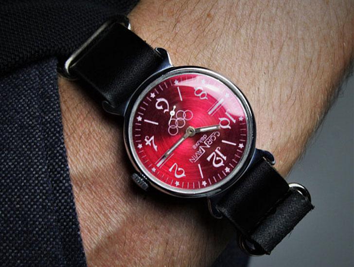 "Vintage ""Cornavin"" Mechanical Watch - Stylish & Unique Men's Watches Under $200"