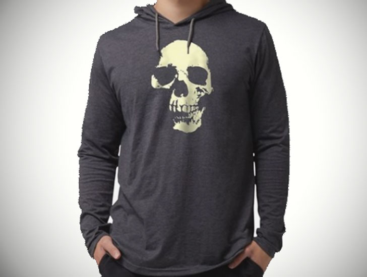 Vintage Skull Long sleeve Tees