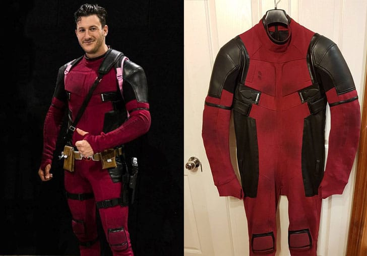 Weathered Deadpool Cosplay Suit